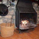 chimenea casas rurales