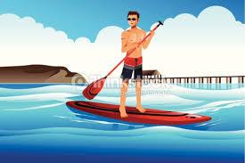 paddel surft